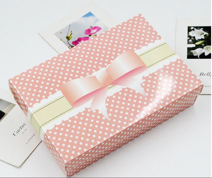 Recycling Underwear Packaging Box White Coated Paper Nice Packaging Boxes